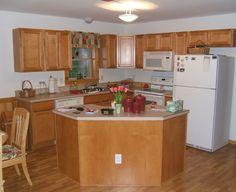 Modular Log Home Interior Photos