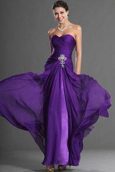 Fall Hourglass Mid Back Thin Evening Dress