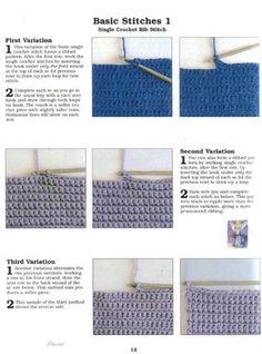 crocheting school, crocheting, ABC