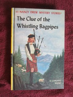 The Clue of the Whistling Bagpipes by Carolyn Keene - Nancy Drew # 41 - 1964 ~~ For Sale At Wenzel Thrifty Nickel eCRATER store