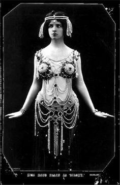 Miss Maud Allan as Salome