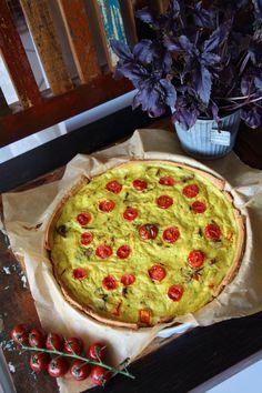Vegane Pilz-Quiche #vegan #quiche #rezept #laurasapfelbaum