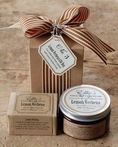 No. 3 Gift Box Soap & Shea Handmade Soap by FrogGoesToMarket