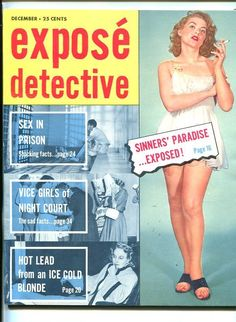 Exposé Detective, December 1956.