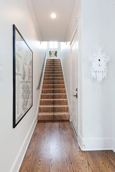 The Peak of Tres Chic: Stair Runners That Make A Statement - antelope stair runner.  So cool!