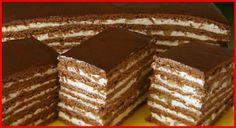 Tort delicios cu ciocolată, miere și cremă de ouă! Irezistibil! - Retete-Usoare.eu