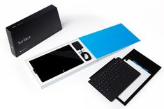 Designed by David Dunham for Microsoft as a Packaging Program Manager - Hardware Division