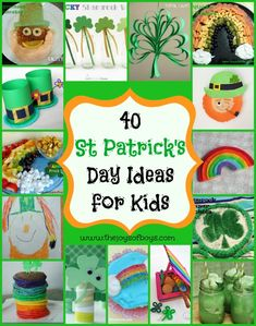 40 St Patrick's Day Ideas for Kids