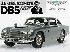 Aston Martin DB5 Goldfinger Diecast Model Car in 1:43 Scale by Mattel Elite @ niftywarehouse.com #NiftyWarehouse #Bond #JamesBond #Movies #Books #Spy #SecretAgent #007