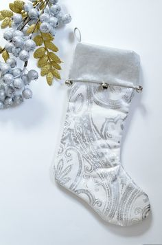 Jingle Bells Christmas Stocking