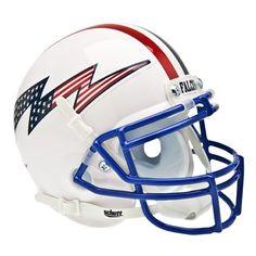 Air Force Falcons NCAA Authentic Mini 14 Size Helmet Alternate White 3 https://www.fanprint.com/licenses/air-force-falcons?ref=5750