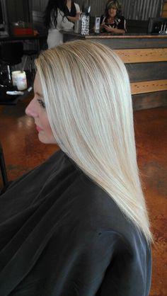 I mean, if I've gotta go gray - - -  Very light golden/beige blonde 10.2