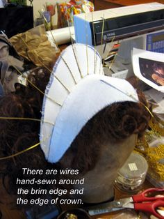 DIY Elizabethan Headress