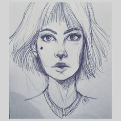 #sketching #sketch #woman #pen #drawing #draw #penart #art #artofinstagram #artist #star #portrait #illustration #illustrationoftheday