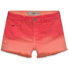 Hollister Co Hollister High Rise Short Shorts ($40) ❤ liked on Polyvore