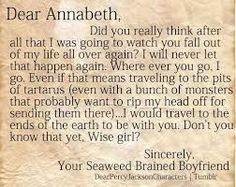 PERCABETH. THE BEST OTP OUT THERE...