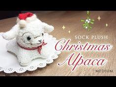 Little Rudolph Sock Plush Tutorial - DIY Red Nose Reindeer for Christmas! - YouTube