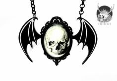 Image of Dragon Wings Statement Necklace