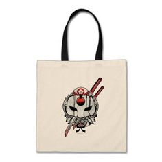 Suicide Squad | Katana Mask & Swords Tattoo Art Tote Bag #suicidesquad #licensed... #Art #Bag #Katana #licensed #Mask #Squad #Suicide Blossom Tree Tattoo, Sword Tattoo, Katana, Swords, Squad, Masks, Reusable Tote Bags, Gifts, Accessories