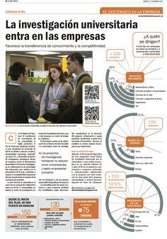 Artículo sobre el Doctorado en la Empresa. La Vanguardia. Cristina Catalán