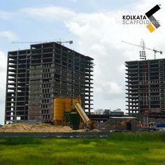 Scaffolding Installation at Mani Casadona, Kolkata, India