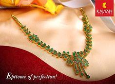 Gold emerald necklace India Jewelry, Emerald Jewelry, Gold Jewelry, Emerald Pendant, Emerald Necklace, Gold Jewellery Design, Jewelry Patterns, Necklace Designs, Clipboard