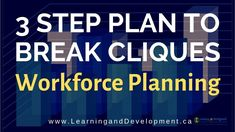 Simple Plan to Break Out of a Clique-Organizational Culture: Workforce Planning Series Management Books, Business Management, Life Problems, Kaizen, Stems, Organizations, How To Become, Positivity, Culture