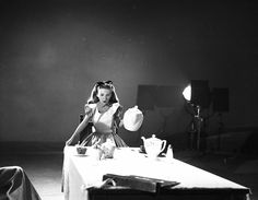 ALICE IN WONDERLAND. Kathryn Beaumont Levine, voice and live action model for Alice.