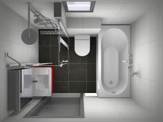 Complete kleine badkamer - Kleine badkamers.nl