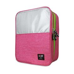 for the gym, in pink - Shoe Bag Travel Organizer, BUBM Shoe storage/ Shoe Cube-P...