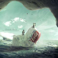Coca-Cola ice cold por Leonardo Barros