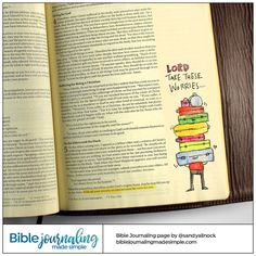 Bible Journaling Made Simple — 1 Peter 5 Scripture Quotes, Bible Art, Bible Verses, Peter Bible, Bible Study Journal, Art Journaling, Jesus Scriptures, Bible Drawing, Bible Notes