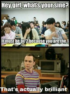 Funny Memes - [Hey Girl, What's Your Sine?]