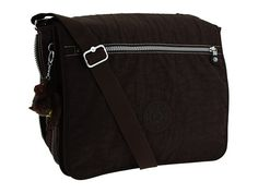 Kipling U.S.A. Madhouse Expandable Messenger Bag Espresso - Zappos.com Free Shipping BOTH Ways