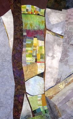 Fissure by Janet Windsor | art quilt