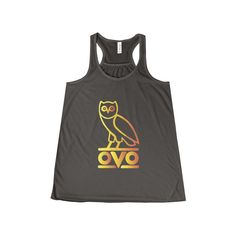 Now avaiable on our store: Ovo Rapper Bird O... Check it out here! http://ashoppingz.com/products/womens-flowy-racerback-tank?utm_campaign=social_autopilot&utm_source=pin&utm_medium=pin