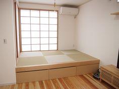 ★Web内覧会~小さくても上質な家★計算された小上がり和室 | MK-file - 楽天ブログ House Design, Interior Design, Interior Deco, Home, Interior, Simple Bedroom, Tatami Bed, Home Decor, Room