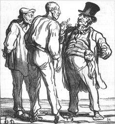 daumier Drawings | Daumier | Art - Drawing