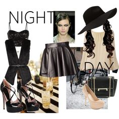 """""""Day to Night"""" by little-mrs-cant-be-wrong on Polyvore"""