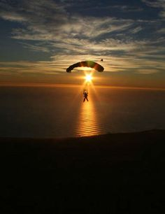 Skydiving.... did my dive at skydive New England. Everyone was great! The best jump of the day! Sunset