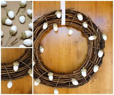 Awesome Easy to Make Wreaths Design Ideas ~ http://www.lookmyhomes.com/easy-to-make-wreaths/