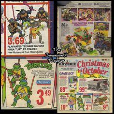 Turtles toys & games