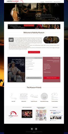 Sito web di presentazione per Nativity Museum Malta - Valletta - HomePage - Realizzato con Wordpress- Anno 2014