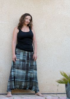 Plus size harem pants for women by lunalin on Etsy