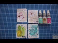 Sprays scintillants 3/3 fonds de pages dilués & taches