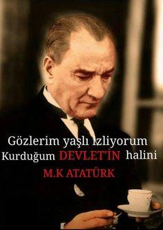 YIKIN HEYKELLERİMİ Ey Milletim,  Ben Mustafa KEMAL' im Çağın gerisinde kaldıysa düşüncelerim,  Hâlâ en hakiki mürşit değilse ilim,  Kurusun damağım dilim,  Özür dilerim.  Unutun tüm dediklerimi,  Yıkın diktiğiniz heykellerimi.