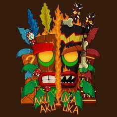 #crash #bandicoot #tshirt #mask