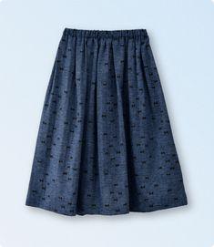 型紙なしで作れる!大人ワンピースと子ども服 Girl Fashion, Womens Fashion, Fashion Design, Handicraft, Free Pattern, What To Wear, Diy And Crafts, Sewing Projects, Sewing Patterns