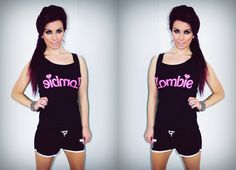 ! * YULIE KENDRA´S LIFE * !: Let´s be sporty ! Zombie barbie top blogger fashion outfit trend hotpants skinny sexy hot ootd