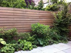 horizontal fence -- fancy pants -- love it